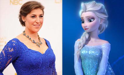 Mayim Bialik on Frozen: I HATE That Movie!