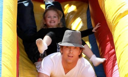 Larry Birkhead Hangs with Daughter, Paparazzi