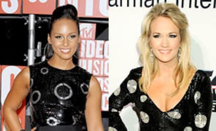 Fashion Face-Off: Alicia Keys vs. Carrie Underwood
