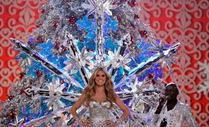 Heidi Klum Resigns Gorgeous Victoria's Secret Post