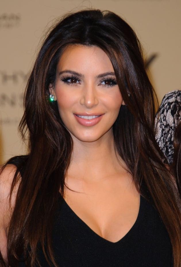 Kim Kardashian Smile