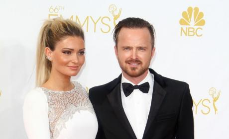 Ason Paul and Lauren Parkesian Emmys Photo