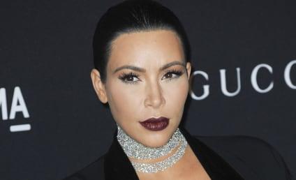 Kim Kardashian at Art+Film Gala: Now Sheer THIS!
