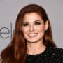 Debra Messing Smiles at the Golden Globes