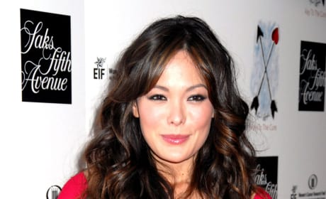 Lindsay Price Red Dress