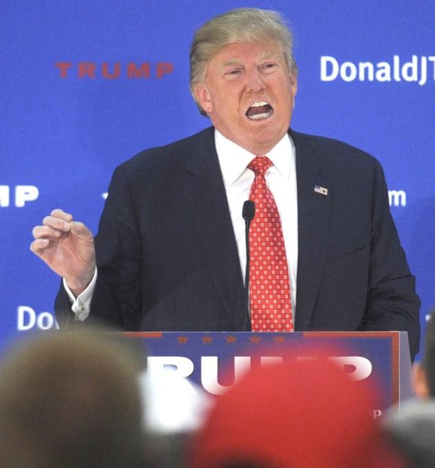 Donald Trump Talks a Lot