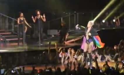 Pink Waves Gay Pride Flag, Embraces Lesbian Chatter