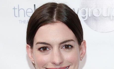 Anne Hathaway Smiles