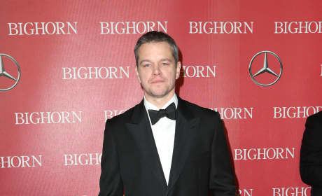 Matt Damon: 27th Annual Palm Springs International Film Festival Awards Gala