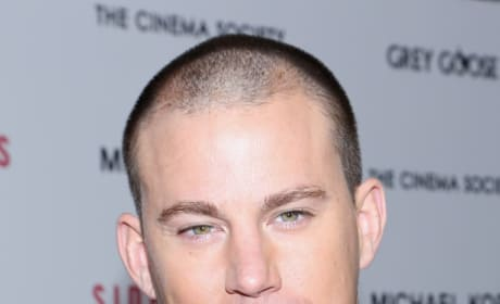 Channing Tatum Up Close