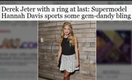Derek Jeter: Engaged to Hannah Davis?