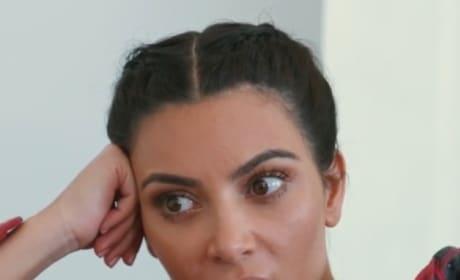 Kim Kardashian is AGHAST!