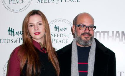 Amber Tamblyn and David Cross: Married!
