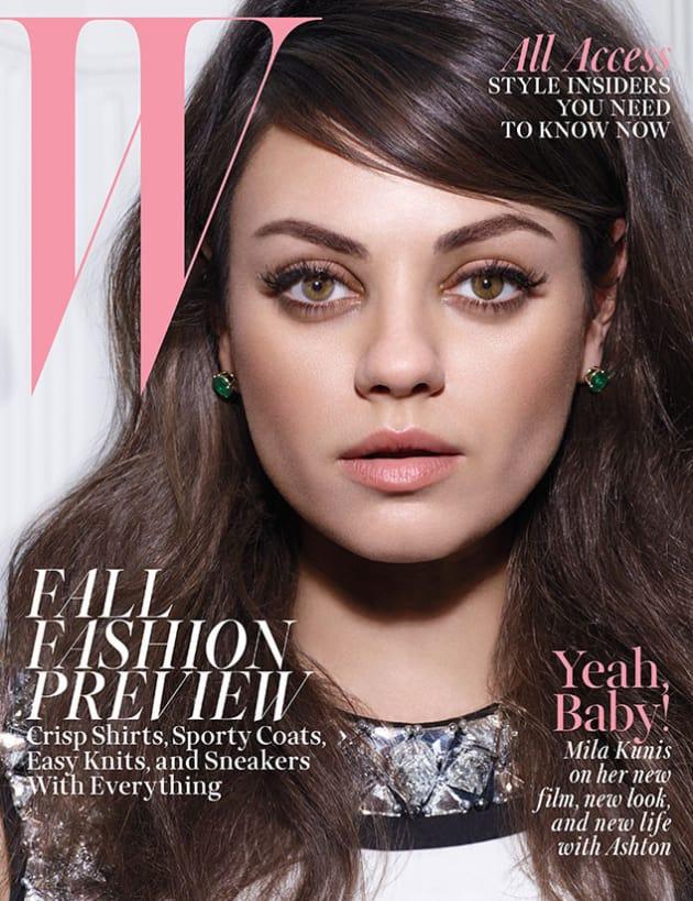 Mila Kunis W Issue