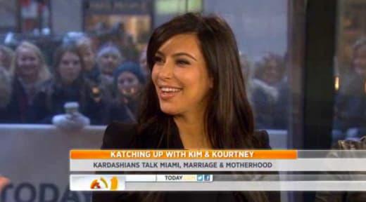Kim Kardashian Today Show Pic