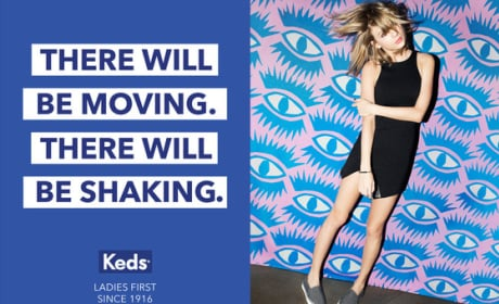 Taylor Swift Keds Ad