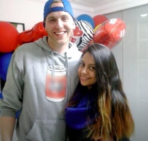 Tim and Melisa met in college