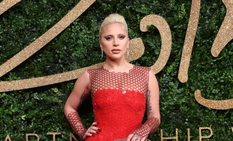 Lady Gaga: 2015 British Fashion Awards
