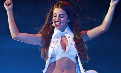Selena Gomez Kicks Off Tour, Bares Midriff