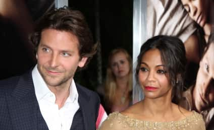 Bradley Cooper and Zoe Saldana: It's Over! Again!