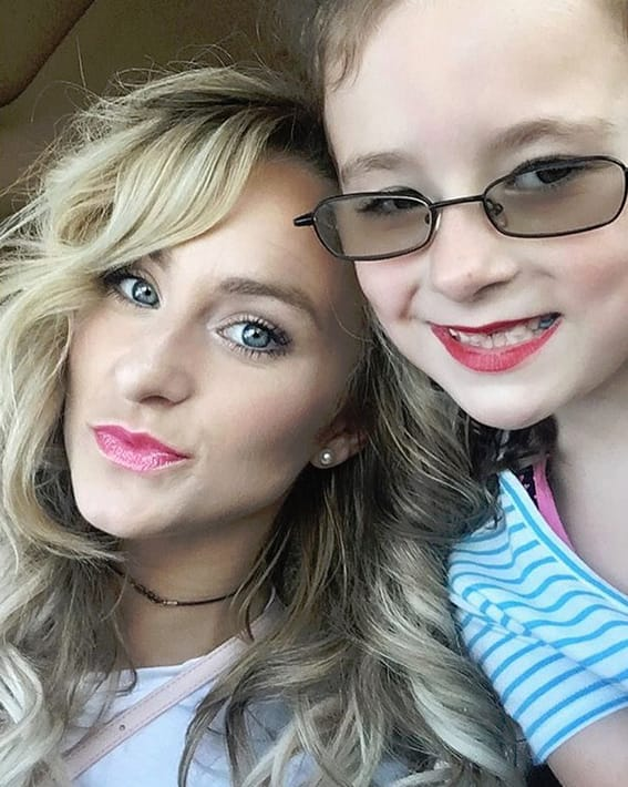 Leah messer and ali simms selfie