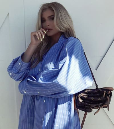 Kylie Jenner Hides Her Baby Bump