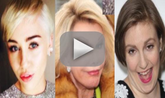 Joan Rivers: Miley Cyrus is Incestual! Lena Dunham is Fat!