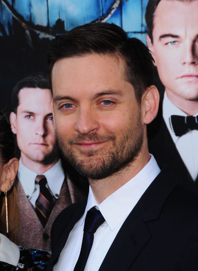 Tobey Maguire at Great Gatsby Premiere