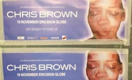 Chris Brown Concerts Advertised With Battered Rihanna Photos in Sweden