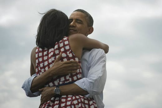 Barack and Michelle Obama Photo