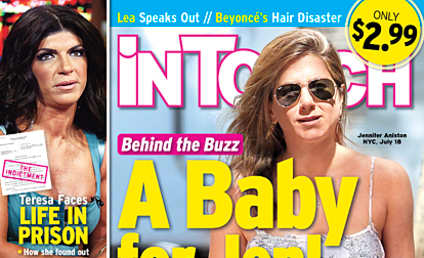 Jennifer Aniston WILL BE Pregnant at 45 Next Year, Tabloid Alleges