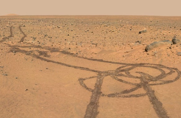 Mars Rover Penis Photo