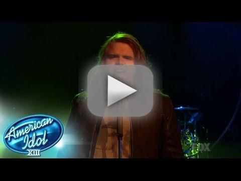 """Caleb Johnson Sings """"Dazed and Confused"""""""