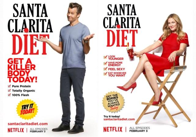 Santa clarita diet posters