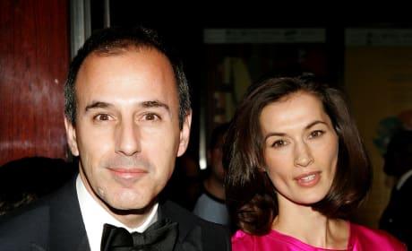 Matt Lauer, wife Annette Roque, Throwback