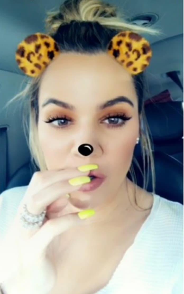 Khloe Kardashian Flaunting Engagement Ring on Snapchat The