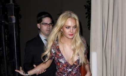 Best of Lindsay Lohan Fashion: Ankle Monitor Style