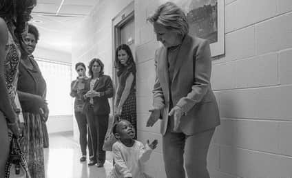 Hillary Clinton Shares Inspiring Photo Upon Clinching Presidential Nomination