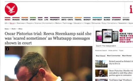 Oscar Pistorius Text Messages: Jealous, Critical