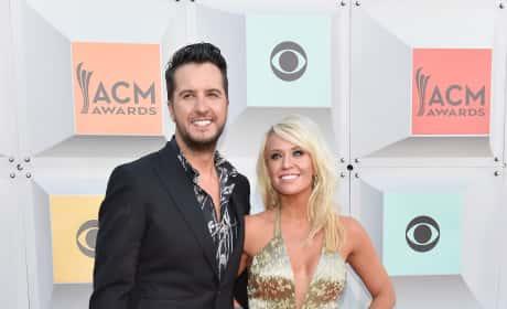 Luke Bryan and Caroline Boyer: 51st Academy of Country Music Awards