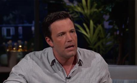 Ben Affleck is Angry