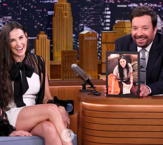 Demi Moore on The Tonight Show
