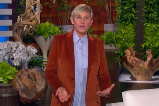 Ellen DeGeneres Returns After COVID