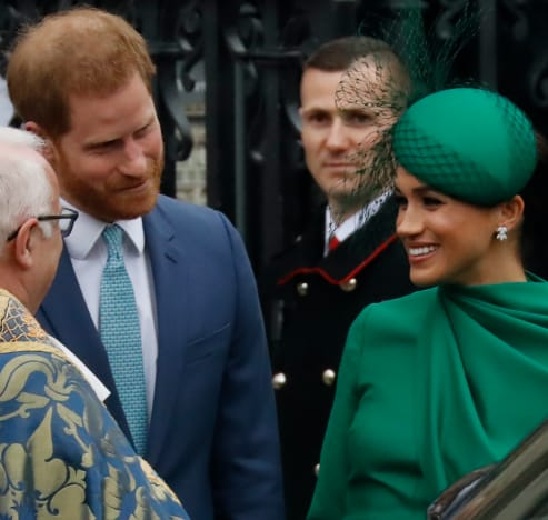 Prince Harry Ogles His Wife