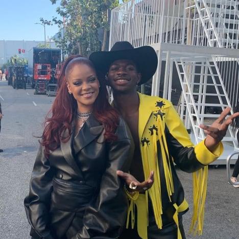 Lil Nas X and Rihanna