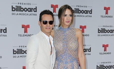 Marc Anthony & Shannon De Lima At Billboard Awards