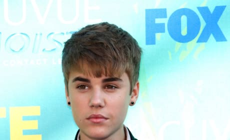 Justin Bieber at the TCAs