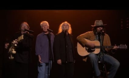 Jimmy Fallon (Sort Of) Reunites Crosby, Stills, Nash & Young; Covers Iggy Azalea