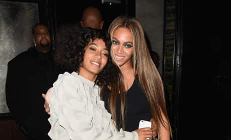 Solange Knowles and Beyonce: Balmain Met Gala After Party