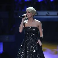 Carrie on Idol